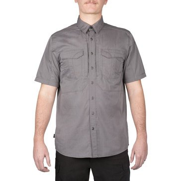 5.11 Men's Stryke Shirt Short Sleeve Tundra Storm