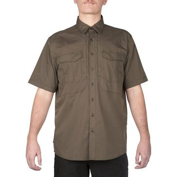 5.11 Men's Stryke Shirt Short Sleeve Tundra Tundra