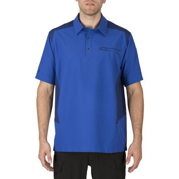 5.11 Tactical Men's Freedom Flex Polo in Marina
