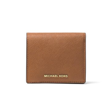 Michael Kors Jet Set Travel Carryall Card Case Saffiano Luggage