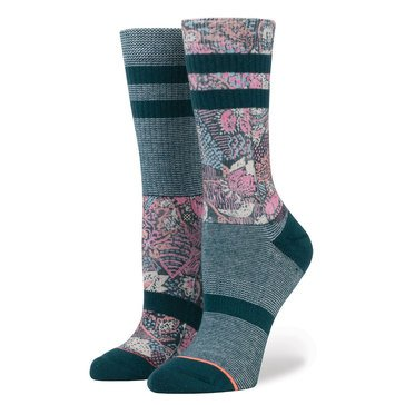 Stance Go East Classic Crew Socks Teal