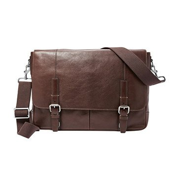 Fossil Graham Messenger Bag - Dark Brown