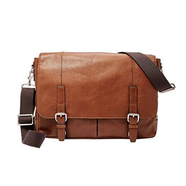Fossil Bag-Graham Messenger Bag - Cognac