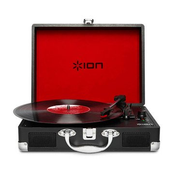 Ion Vinyl Motion Turntable with Integrated Case