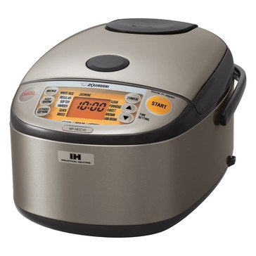 Zojirushi Induction Rice Cooker & Warmer, 5.5-Cup (NP-HCC10XH)