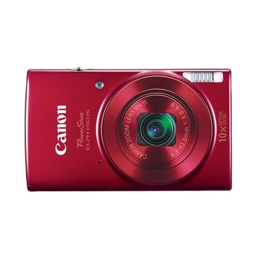 Canon Powershot ELPH 190 IS 20MP Digital Camera - Red