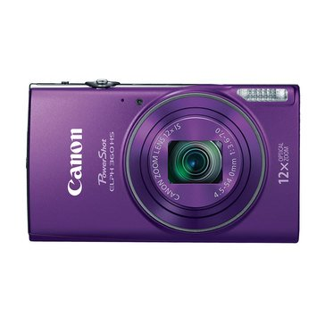 Canon Powershot ELPH 360 HS 20.2MP Digital Camera - Purple
