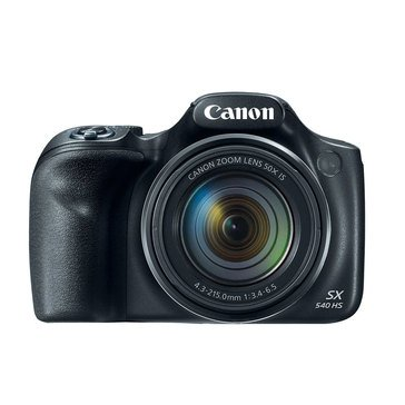 Canon Powershot SX540 HS 20.3MP Digital Camera - Black