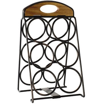 Gourmet Basics by Mikasa 6-Bottle Wine Rack