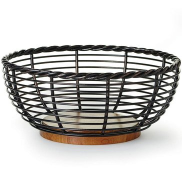 Gourmet Basics by Mikasa Rope Fruit Basket