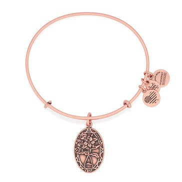 Alex and Ani Friend Expandable Bangle, Rose Gold Finish