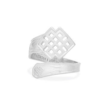 Alex and Ani Endless Knot Spoon Ring
