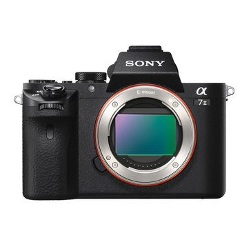 Sony Alpha A7 II 24.3MP Mirrorless Digital Camera - Body Only (ILCE-7M2)
