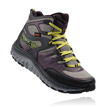 Hoka One One Tor Tech Mid Men's Trail Shoe Grey Acid