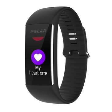 Polar A360 HR Fitness Tracker - Black / Large