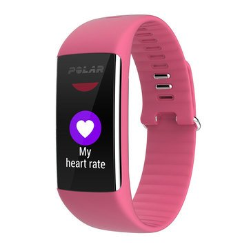 Polar A360 HR Fitness Tracker - Pink / Small