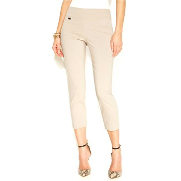 Alfani Women's Pull On Capri Pants in Summer Straw