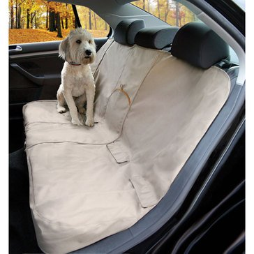 Kurgo Travel Extended Bench Seat Cover Hampton Sand