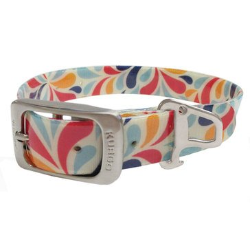 Kurgo Muck Dog Collar Color Splash Medium