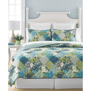 Martha Stewart Collection Antique Patch Quilt - Queen