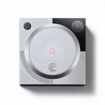 August Wi-Fi Smart Video Doorbell - Silver (AUG-AB01-M01-S010)