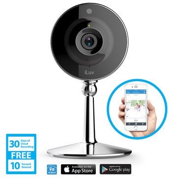 iLuv mySight Home IP Camera with Cloud Storage