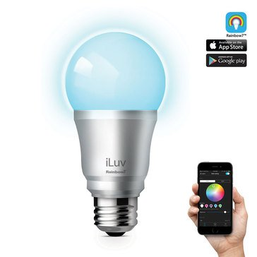 iLuv Rainbow7 Bluetooth Color LED Light Bulb
