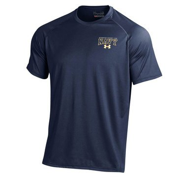 Under Armour Men's  Tech Tee with USN 1775