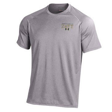 Under Armour Men's Tech Tee with USN 1175 d