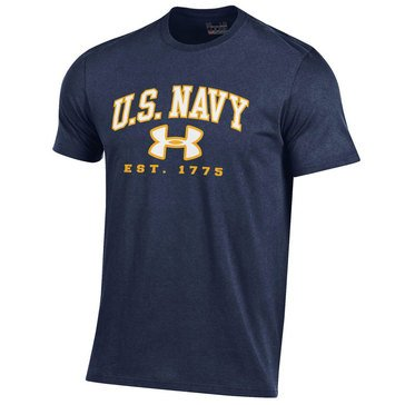 Under Armour Men's Charged Tee with USN 1175