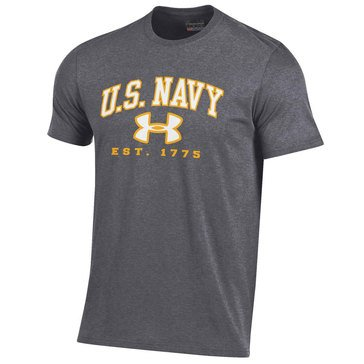 Under Armour Men's  Charged Tee with USN Est. 1775