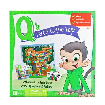 Q's Race To The Top Board Game