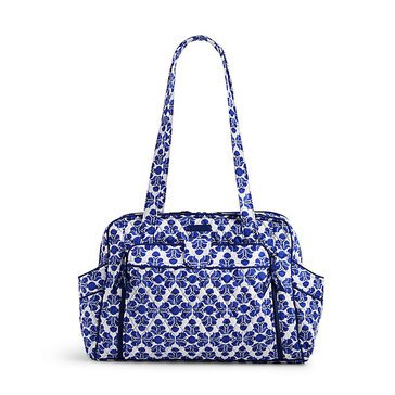 Vera Bradley Stroll Around Baby Bag, Cobalt Tile