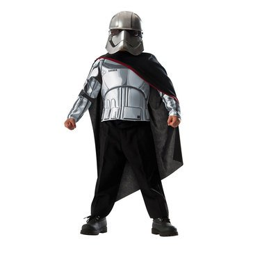 Star Wars Captain Phasma Muscle Chest Deluxe Costume Box Set