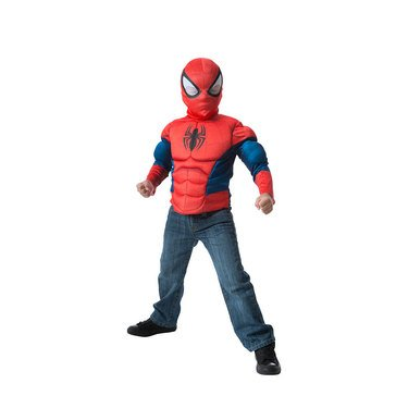 Ultimate Spider-Man Muscle Chest Deluxe Costume Box Set