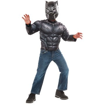 Black Panther Muscle Chest Deluxe Costume Box Set