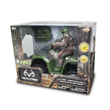 Realtree ATV with Hunter in Fabric Outfit R/C