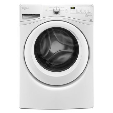 Whirlpool 4.5-Cu.Ft. Front Load Washer w/Precision Dispense, White (WFW75HEFW)