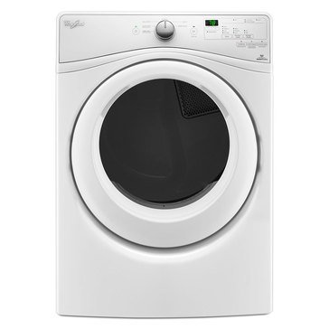 Whirlpool 7.4-Cu.Ft. Gas Dryer w/ Quick Dry Cycle, White (WGD75HEFW)