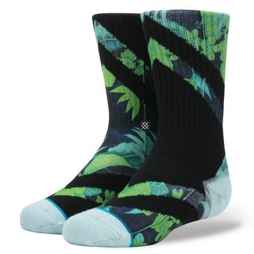 Stance Little Boys' Diamond Head Crew Socks, Size 2.5-5