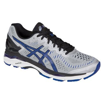 Asics Gel Kayano 23 Men's Running Shoe Silver / Imperial / Black