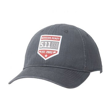 5.11 Men's Mission Ready Cap Charcoal