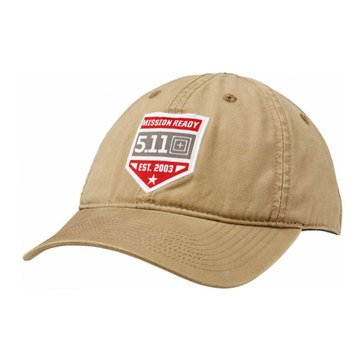 5.11 Men's Mission Ready Cap Coyote