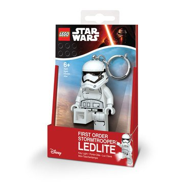 LEGO Star Wars Episode 7 First Order Stormtrooper Key Chain Light