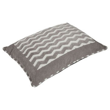 SnooZZy Softies Gray and White Pet Bed 21