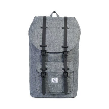 Herschel Little America Backpack - Raven Crosshatch/Black