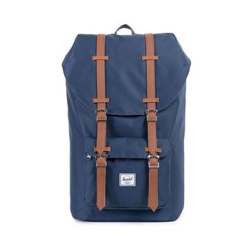 Herschel Little America Backpack -Navy/Tan