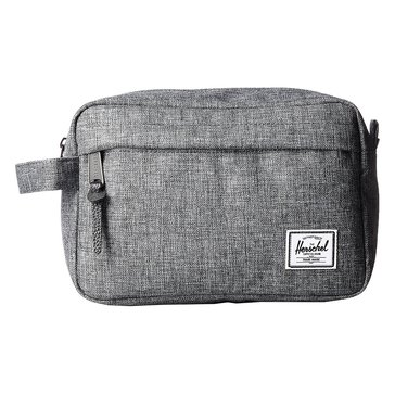 Herschel Chapter Travel Kit - Raven Crosshatch