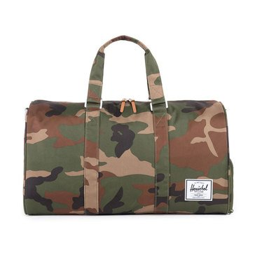 Herschel Novel 20.5 Inch Duffel Woodland Camo/Multi Zip