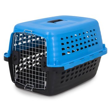 Petmate Compass Kennel 10-20 lbs Blue 24